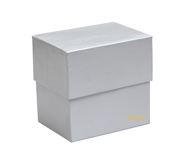 Pack of 12 Silver Multi-purpose Gift Boxes 60mm(W) x 80mm(L) x 80mm(H).